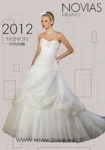 abito sposa 2012 stile principessa