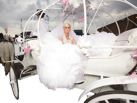 cart royal wedding gypsy