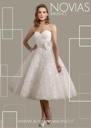abiti sposa corto 2012