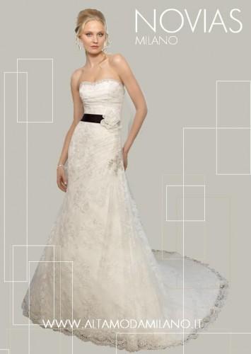 abiti sposa 2012 stile impero