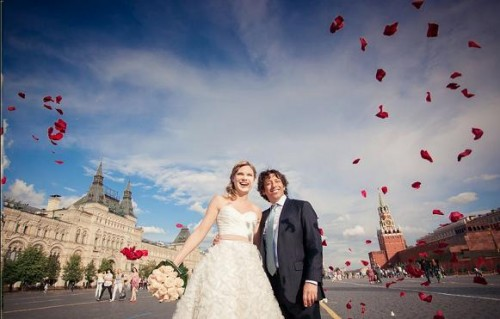 wedding dress moscow rush