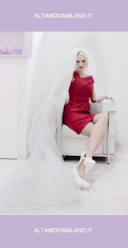 abiti sposa rossi